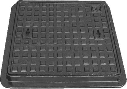 medium duty manhole cover cast iron 125kn