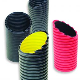 HDPE Corrugated Pipes for cable protection irrigation sewer subsoil